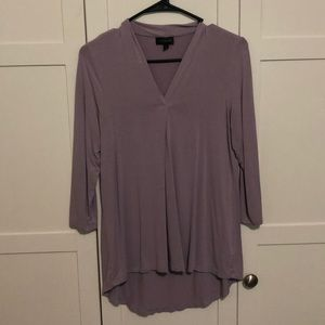The Limited - Purple Blouse top